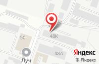Схема проезда до компании Белгородская дверная биржа в Белгороде