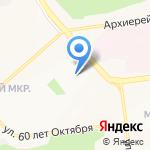 Детский сад №79 комбинированного вида на карте Белгорода