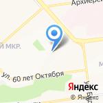 Салон красоты Оксаны Карповой на карте Белгорода