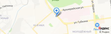 Сварком на карте Белгорода