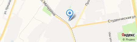 Мир инструментов на карте Белгорода