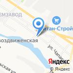 Отдел вневедомственной охраны по г. Белгороду на карте Белгорода