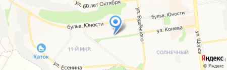 Мебельная фирма на карте Белгорода