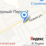 Помор-оценка на карте Белгорода