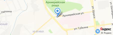 Аллегро стиль на карте Белгорода