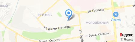 Детский сад №84 на карте Белгорода