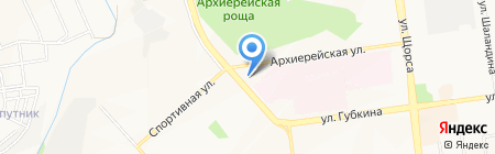 Ковры на карте Белгорода