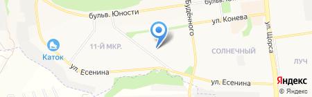 Визард на карте Белгорода