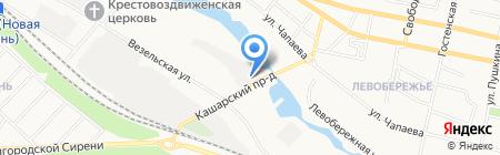 7колесо на карте Белгорода