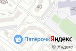 Схема проезда до компании Верный друг в Белгороде