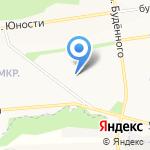 Верный друг на карте Белгорода