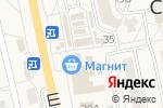 Схема проезда до компании Продуктовый магазин в Северном