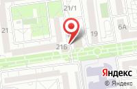 Схема проезда до компании БелоДвери в Белгороде