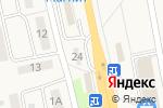 Схема проезда до компании Магазин автозапчастей в Северном