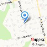 Белгородская детская музыкальная школа №5 на карте Белгорода
