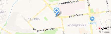 Банкомат Белгородсоцбанк на карте Белгорода