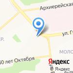 Русич-ТВН на карте Белгорода