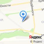Жилспецмонтаж на карте Белгорода