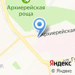 Синоптика на карте Белгорода