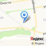 Предприятие сервиспроектстрой на карте Белгорода