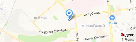 Печатный мир на карте Белгорода