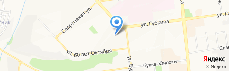 Аэлита на карте Белгорода