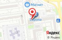 Схема проезда до компании Айсфорт в Белгороде
