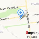 Кругозор на карте Белгорода