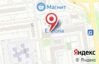 Схема проезда до компании Новый Адрес в Белгороде