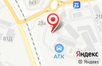 Схема проезда до компании Мир дверей в Белгороде
