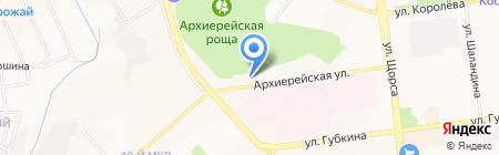Балатонстрой на карте Белгорода