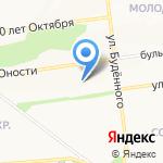 Мультик на карте Белгорода