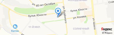 Умелый мастер на карте Белгорода