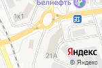Схема проезда до компании Бар недвижимости в Белгороде