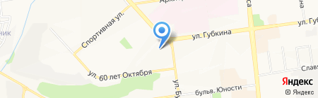 Ивановский текстиль цены пополам на карте Белгорода