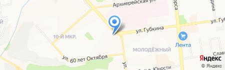 Гелиос на карте Белгорода