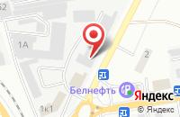 Схема проезда до компании Строительная компания в Белгороде