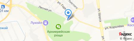 Инастрой на карте Белгорода