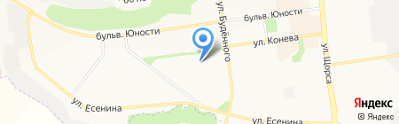 Гимназия №3 на карте Белгорода