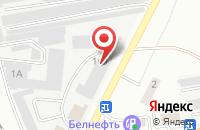 Схема проезда до компании Астон в Белгороде
