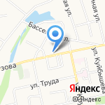 Мастер-Моторс на карте Белгорода
