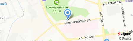Поместная церковь Христиан Адвентистов Седьмого дня на карте Белгорода