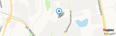 Завод очистных сооружений и емкостного оборудования на карте Белгорода