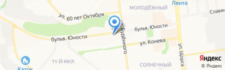 Город Детей на карте Белгорода