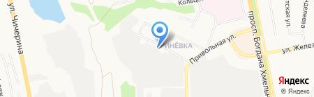 Визит на карте Белгорода