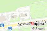 Схема проезда до компании Сигма в Белгороде