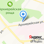Железный конь на карте Белгорода