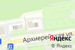 Схема проезда до компании СтройГрупп в Белгороде