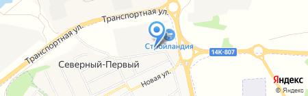 Золотой колос на карте Белгорода