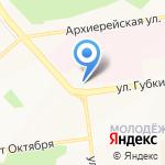 Центр гигиены и эпидемиологии в Белгородской области на карте Белгорода